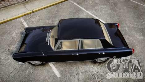 FSO Warszawa Ghia 1959 для GTA 4 вид справа