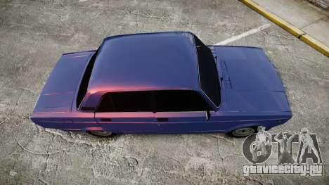 ВАЗ-2105 хулиганский стиль для GTA 4 вид справа