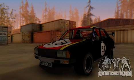 Dacia 1410 Sport для GTA San Andreas вид слева