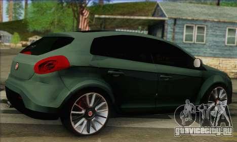Fiat Bravo 2 для GTA San Andreas вид слева