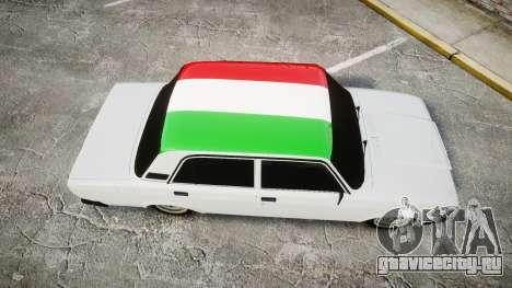 ВАЗ-2107 Италия для GTA 4 вид справа