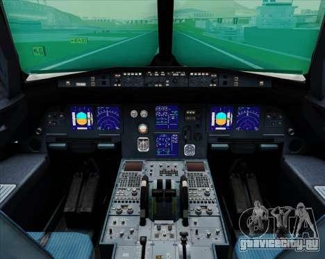 Airbus A321-200 Hansung Airlines для GTA San Andreas салон