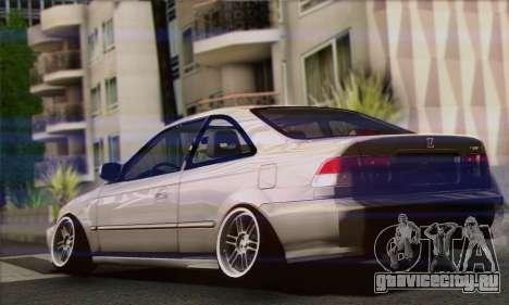 Honda Civic Si Coupe для GTA San Andreas вид слева