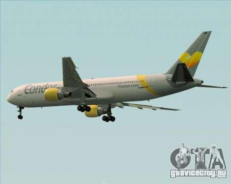 Boeing 767-330ER Condor для GTA San Andreas вид сзади