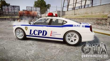 Bravado Buffalo Police для GTA 4 вид слева
