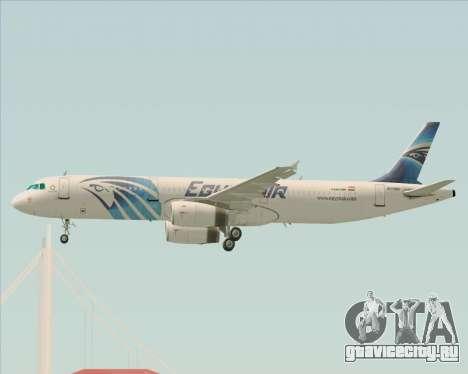 Airbus A321-200 EgyptAir для GTA San Andreas двигатель
