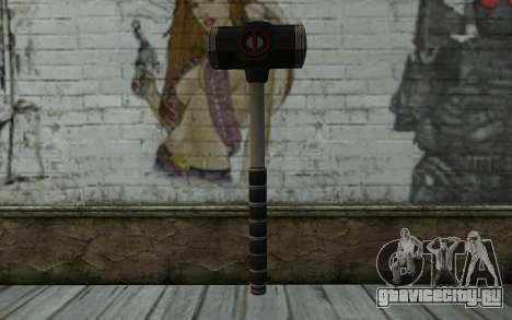 Bat from Deadpool для GTA San Andreas второй скриншот