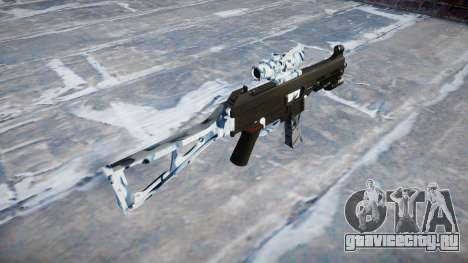 Пистолет-пулемёт UMP45 Skulls для GTA 4 второй скриншот