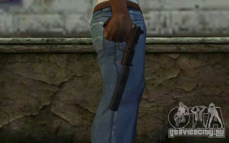 FN FNP-45 С Глушителем для GTA San Andreas третий скриншот