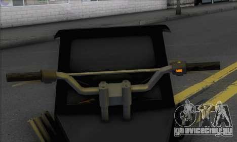 Sweeper from GTA 5 для GTA San Andreas вид сзади слева