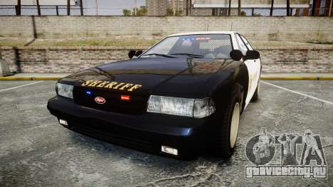 GTA V Vapid Cruiser LSS Black [ELS] Slicktop для GTA 4