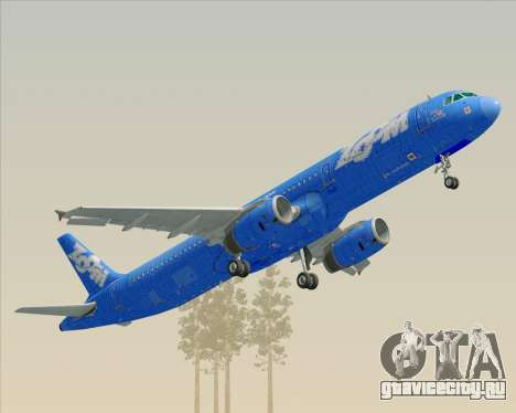 Airbus A321-200 Zoom Airlines для GTA San Andreas