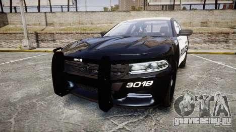 Dodge Charger 2015 LPD CHGR [ELS] для GTA 4