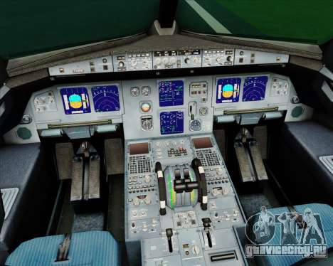 Airbus A321-200 CSA Czech Airlines для GTA San Andreas салон