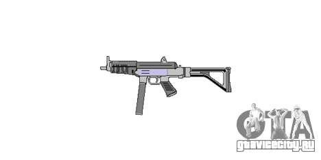 Пистолет-пулемет Taurus MT-40 buttstock1 icon4 для GTA 4 третий скриншот