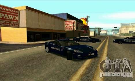 FCPD Chevrolet Corvette Z06 для GTA San Andreas