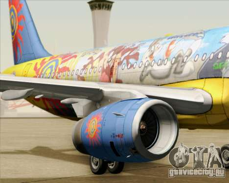 Airbus A321-200 для GTA San Andreas двигатель