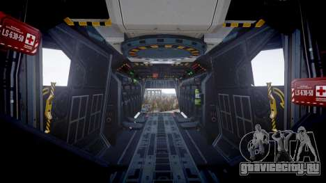 VTOL Warship PJ3 для GTA 4 вид сзади