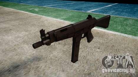 Пистолет-пулемет Taurus MT-40 buttstock1 icon4 для GTA 4