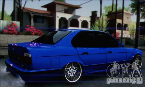 BMW M5 E34 V10 для GTA San Andreas вид слева