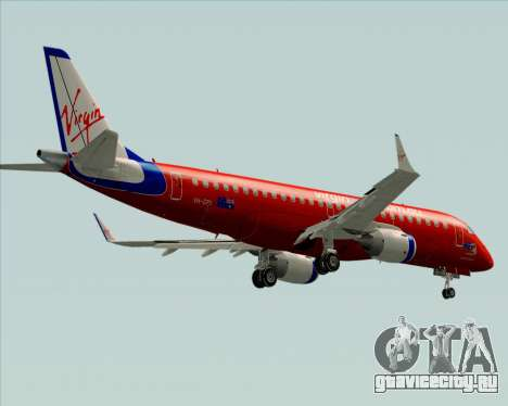 Embraer E-190 Virgin Blue для GTA San Andreas вид сверху