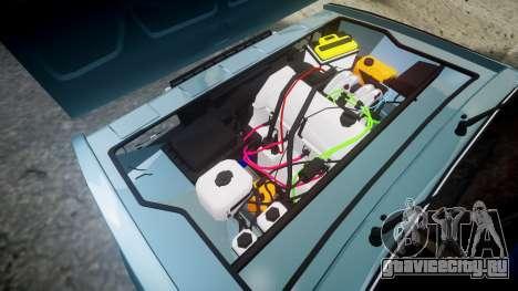 ВАЗ-2107 бродяга для GTA 4 вид сбоку