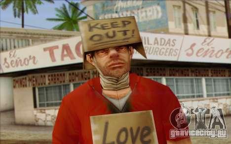 Vagabonds Skin 2 для GTA San Andreas третий скриншот