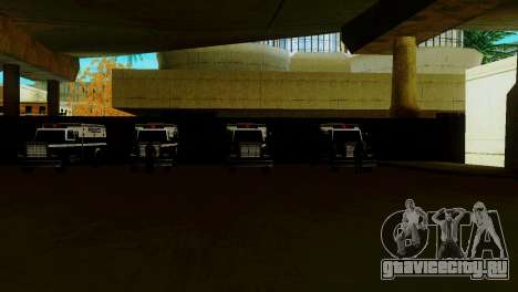 Новый транспорт в LSPD и его оживление для GTA San Andreas третий скриншот