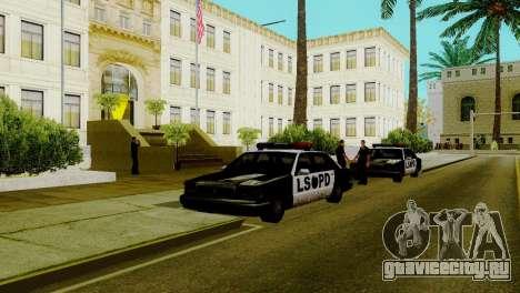 Новый транспорт в LSPD и его оживление для GTA San Andreas