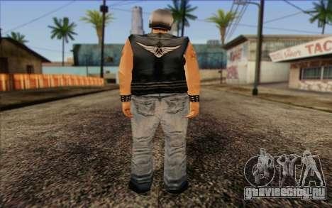 Biker from GTA Vice City Skin 2 для GTA San Andreas второй скриншот