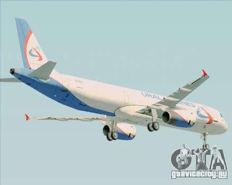 Airbus A321-200 Ural Airlines для GTA San Andreas вид сбоку