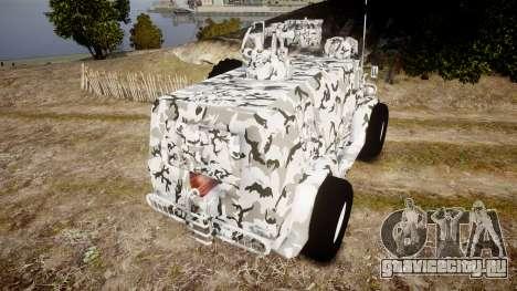 ГАЗ-3937 Водник для GTA 4 вид сзади слева
