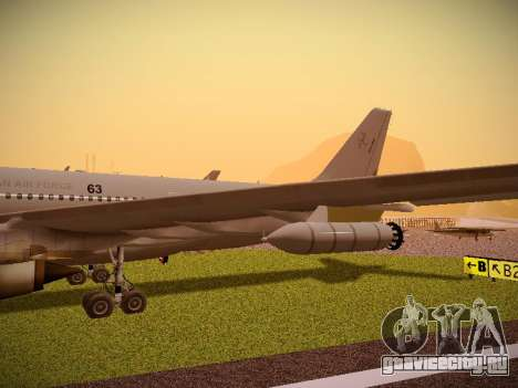 Airbus KC-45A (A330-203) Australian Air Force для GTA San Andreas вид сбоку