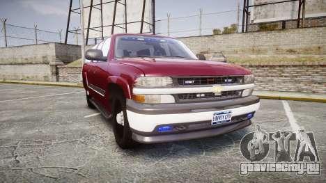 Chevrolet Suburban Undercover 2003 Black Rims для GTA 4