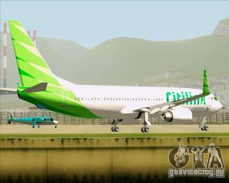 Boeing 737-800 Citilink для GTA San Andreas вид сбоку