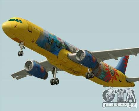 Airbus A321-200 для GTA San Andreas