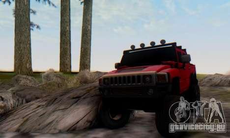 Hummer H6 Sut Pickup для GTA San Andreas вид справа