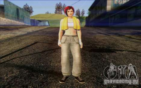 Mila 2Wave from Dead or Alive v18 для GTA San Andreas