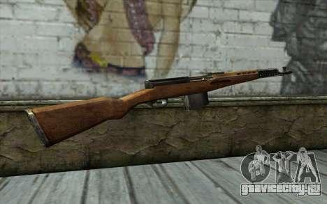 СВТ-40 для GTA San Andreas второй скриншот