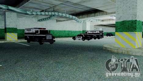 Новые транспортные средства в SFPD для GTA San Andreas шестой скриншот