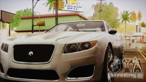 Lampadati Felon (IVF) для GTA San Andreas вид сзади слева
