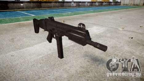 Пистолет-пулемет SMT40 with butt icon3 для GTA 4