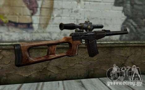 ВСС Винторез для GTA San Andreas второй скриншот