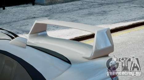 Subaru Impreza WRX STi для GTA 4 вид сзади слева