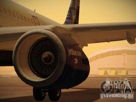 Airbus A321-232 jetBlue Blue Kid in the Town для GTA San Andreas колёса