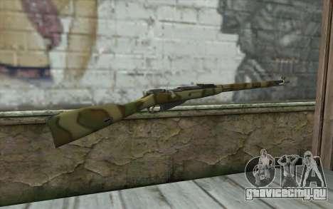 Винтовка Мосина v8 для GTA San Andreas второй скриншот