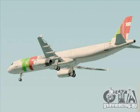 Airbus A321-200 TAP Portugal для GTA San Andreas двигатель