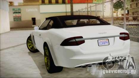 Lampadati Felon GT для GTA San Andreas вид слева