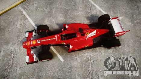 Ferrari F138 v2.0 [RIV] Alonso TSSD для GTA 4 вид справа