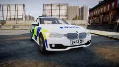 BMW 335i 2013 Central Motorway Police [ELS] для GTA 4